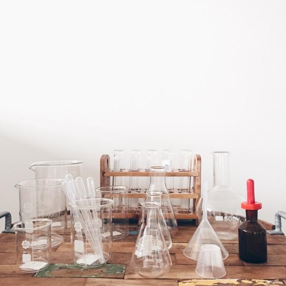 Apothecary glassware