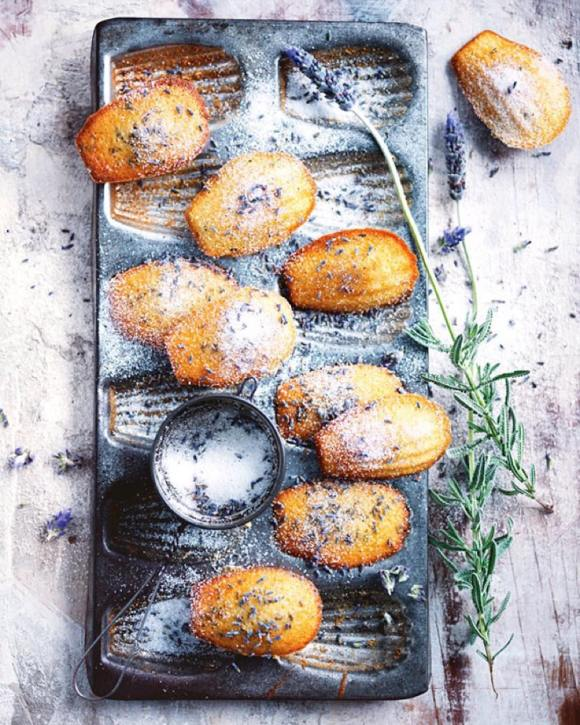 Lavender madeleines homebaked natural by Donna Hay